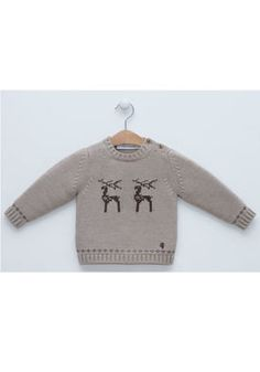 c562c0120773 Pili Carrera CTP-0269110-077-3M infant boy Wool Sweaters