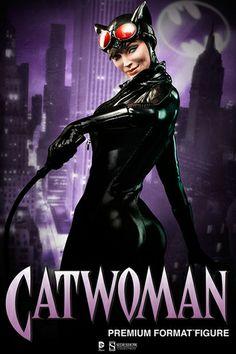 Catwoman Premium Format Figure. #catwoman #batman alteregocomics.com