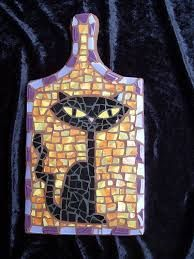 Image result for mosaic cat