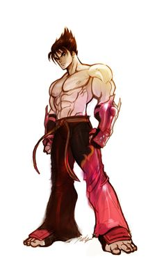 related keywords suggestions for jin kazama artwork