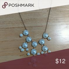 Pearl bobble necklace Pearl bobble necklace never been worn Jewelry Necklaces