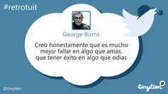 George Burns y el éxito #retrotuit