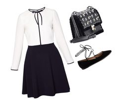 """""""Classy"""" by pitaa29 on Polyvore featuring Ted Baker, Gianvito Rossi and Fendi"""