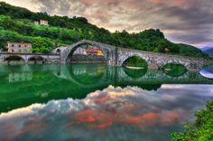 Ponte del Diavolo, Bagni di Lucca (Italy)