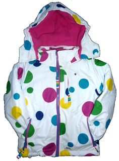 New In - Feeling toasty warm just looking at this girl's Ski Jacket from Trespass. 3-9 yrs £44.99