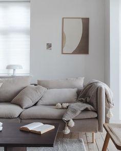 Kitchen - and Furniture Design ( Söderhamn Sofa, Ikea Sofa, Living Room Sofa, Home Living Room, Furniture Legs, Furniture Design, Ikea Soderhamn, Sofas For Small Spaces, Home Decor