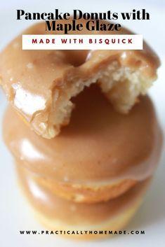 Bisquick Recipes, Baking Recipes, Bisquick Donut Recipe, Best Donut Recipe, Oven Recipes, Gourmet Donut Recipe, Baking Pan, Baking Ideas, Gastronomia