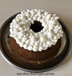 Chiffon cake al caffè con crema cocco e ricotta | Fior di Vaniglia