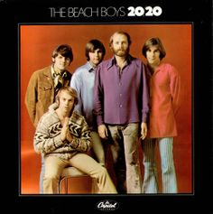 """""""20/20"""" (1969, Capitol) by The Beach Boys.  Their last Capitol LP.  Contains """"I Can Hear Music"""" and the LP version of """"Cotton Fields (The Cotton Song)."""""""