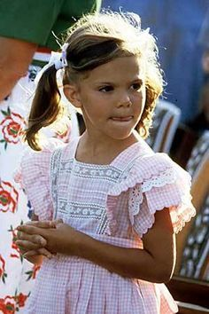 Young Crown Princess Victoria