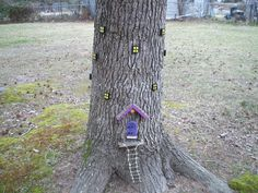 Fairy Tree House on a tree by Rambrosius Gifts