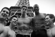 Shirtless Abercrombie & Fitch male models lip-syncing Call Me Maybe  http://www.acausedesgarcons.com/2012/06/les-abercrombie-boys-seclatent-a-leur-tour-sur-call-me-maybe.html