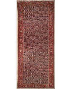 Semi-antique Persian Malayer Area Rug 1829 - Area Rug