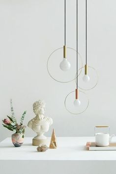 Try: Pendant LightsWord signs can get quite expensive, even secondhand. Save up instead for sophisticated pendant lights that you'll want to keep around for decades. #refinery29 http://www.refinery29.com/pinterest-decor-rules#slide-12