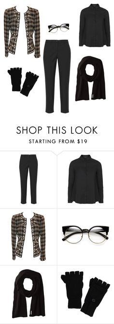 """""""power dressing for winters"""" by kiwi-mehta on Polyvore featuring Miu Miu, Topshop, Chanel, Soia & Kyo and ExOfficio"""
