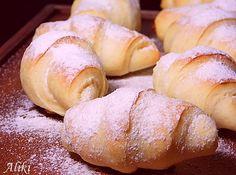 Bosnian Recipes, Croatian Recipes, Bosnian Food, Sweet Pastries, Bread And Pastries, Donut Recipes, Cookie Recipes, Kiflice Recipe, Croatian Cuisine