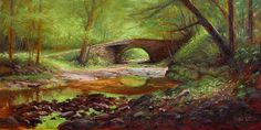 Horseshoe Bend - Landscape Paintings by Joe Kazimierczyk