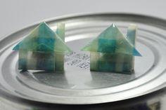 Casas - Origami  Tsuru Creaciones