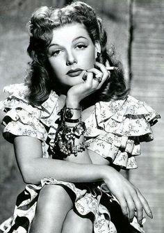 Ann Sheridan, beautiful, great actress