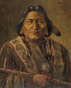 Chief Sitting Bull ~ James Henderson