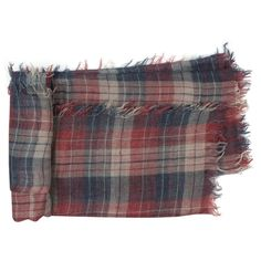 Small checked stole
