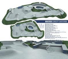 Maverick Concept Skatepark Design.  - www.maverickindustries.co.uk