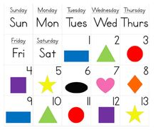 Pocket Chart Calendar Cards --   (These were designed for the small pocket charts available in the Target Back to School Dollar Section. To see how to make your own pocket chart calendar using the pocket charts from Target, go here: http://a-heart4home.blogspot.com/2011/07/pocket-chart-calendar-from-target-1.html )