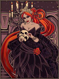 Cinders as evil queen