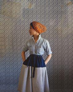 Au Printemps Skirt. $98,00, via Etsy.