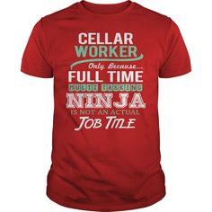 (New Tshirt Produce) Awesome Tee For Cellar Worker [Tshirt Sunfrog] Hoodies, Funny Tee Shirts