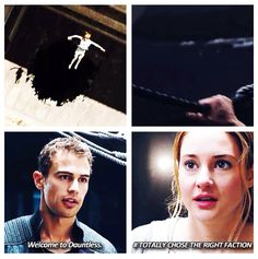~Divergent~ ~Insurgent~ ~Allegiant~ hahahaha that's pretty funny Divergent Memes, Divergent Hunger Games, Divergent Fandom, Divergent Trilogy, Divergent Insurgent Allegiant, Tfios, Insurgent Quotes, Theo Theo, Theo James