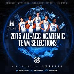Tyus Jones, Justise Winslow, Grayson Allen, Coach K, Duke Blue Devils, Duke University, Basketball Coach, March Madness