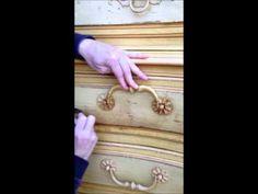 Annie Sloan Dark Wax Video Tutorial