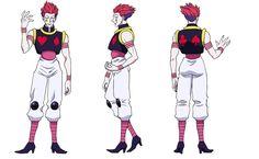 Hisoka 2011 anime design 2 Hisoka/Image Gallery - Hunterpedia
