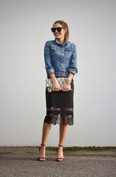 clothingandclass:  The Quarter Life Closet // Christina Brathune // This skirt though
