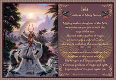 Prayer to Isis Sacred Feminine, Divine Feminine, Queen Isis, Vikings, Gypsy Moon, Isis Goddess, Wicca Witchcraft, Book Of Shadows, Gods And Goddesses