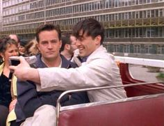 When they went to London and took selfies together. | 25 Moments When Joey And Chandler Won At Friendship
