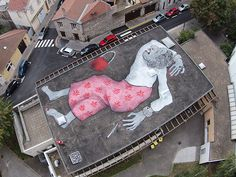 Large-scale Murals of Sleeping Figures by Ella & Pitr | Faith is Torment