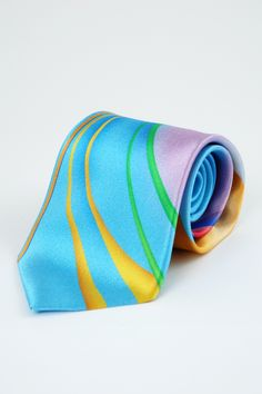 Hand made Italian neck tie-Volare Collection