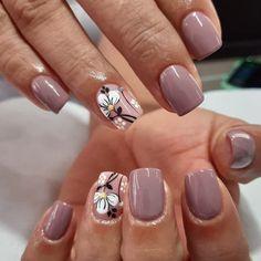 Beauty Nails, Beauty Makeup, Manicure, Short Nails Art, Nails Inspiration, Cute Nails, Nail Art Designs, Acrylic Nails, Make Up