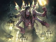 Lamplighter of Selhoff - MTG by ClintCearley