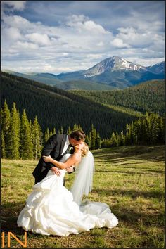 Rocky Mountain wedding at Timber Ridge in Keystone, Colorado http://www.inphotography.net