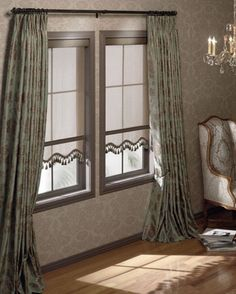 Roller Shades With A Scalloped Bottom Window Shades