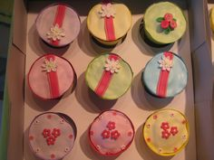 Cupcakes de Flores Diversas