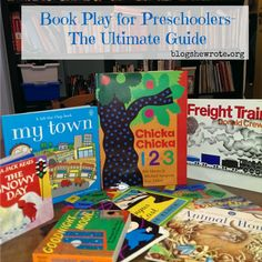 Book Play for Preschoolers- The Ultimate Guide