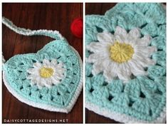 Use this granny purse crochet pattern to make a cute bag for your little girl. Cute and fun, it makes a great party favor or birthday gift.