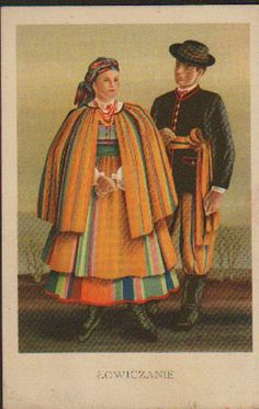 The first illustrated postcards were published in Poland - depending on particular annexed territory - since They served mostly the purpose of popula. Folk Costume, Costumes, Polish Folk Art, Malm, Art Google, Poland, Arts And Crafts, Culture, Boho