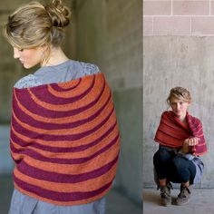 Interweave Knits Presents: 7 Perfect Knitting Patterns for Fall Fall Knitting Patterns, Easy Knitting Projects, Shawl Patterns, Crochet Projects, Knitted Shawls, Crochet Shawl, Knit Crochet, Learn How To Knit, How To Wear
