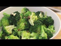 Recette de Brocolis sauté à l'ail - 750 Grammes - YouTube