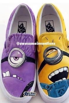 Wow. Dispicable Me 2 don't know if  i would wear them but there cute